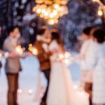 Romantická zimní svatba na Zámku