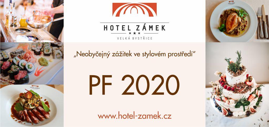 Hotel Zámek Velká Bystřice PF2020