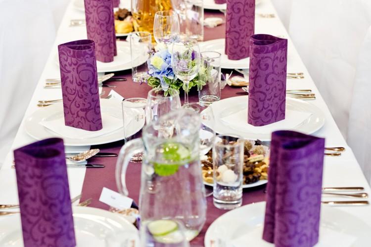 Svatební hostina na Hotelu Zámek