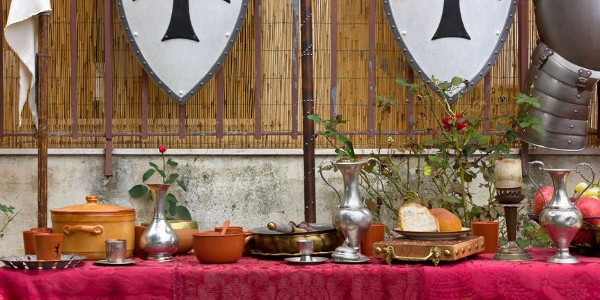 Pokrmy z doby Karla IV. | Hotel Zámek Velká Bystřice